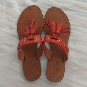 EUC Coach Sandals